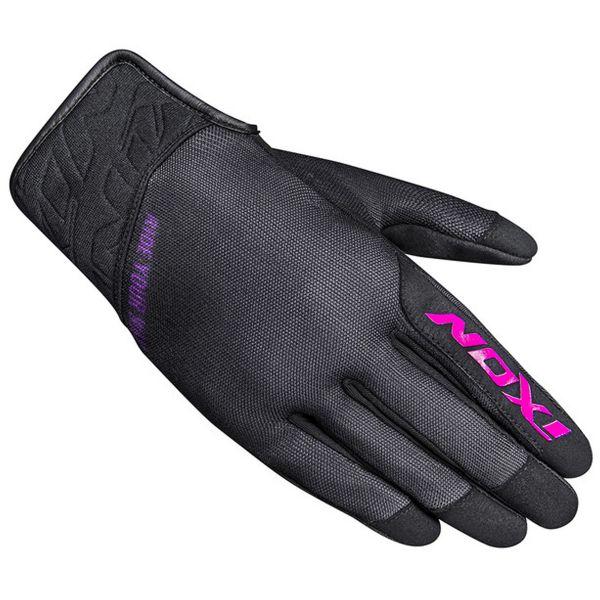 Motorcycle Gloves Ixon RS Slicker Lady Black Fuchsia