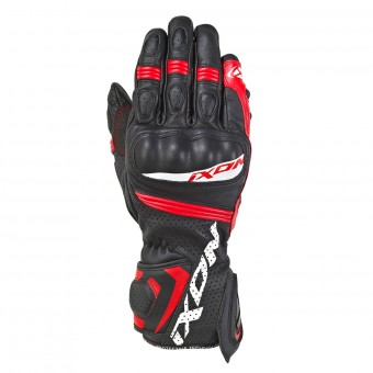 Motorcycle Gloves Ixon RS Tempo Air Black Red