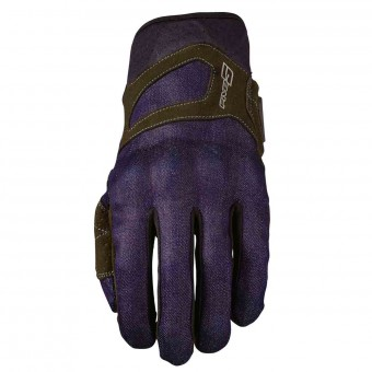 Motorcycle Gloves Five RS3 Denim