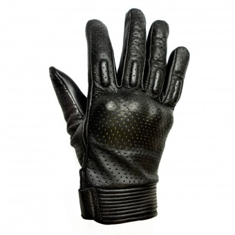 Motorcycle Gloves Helstons Side Woman Black White