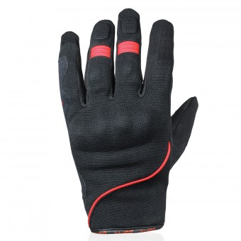 Motorcycle Gloves Darts Splash Red