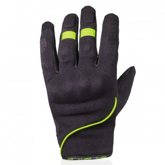 Motorcycle Gloves Darts Splash Green Fluo
