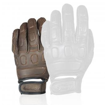 Motorcycle Gloves Darts Sunset Brown