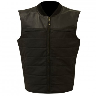 Motorcycle Vests Merlin Stowe Black