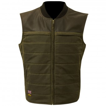 Motorcycle Vests Merlin Stowe Olive