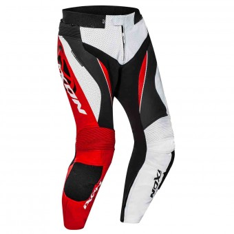 Motorcycle Trousers Ixon Falcon Pant White Black Red