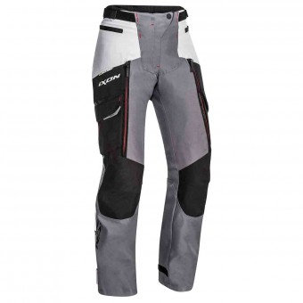 Motorcycle Trousers Ixon Sicilia Lady Pant Black Grey Red