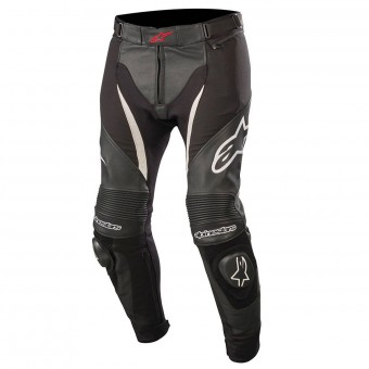 Motorcycle Trousers Alpinestars SP X Pants Black White