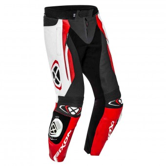 Motorcycle Trousers Ixon Vortex 2 Pant Black White Red