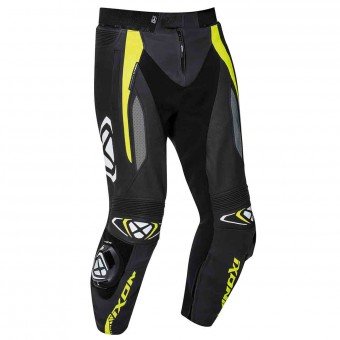 Motorcycle Trousers Ixon Vortex 2 Pant Black Grey Bright Yellow
