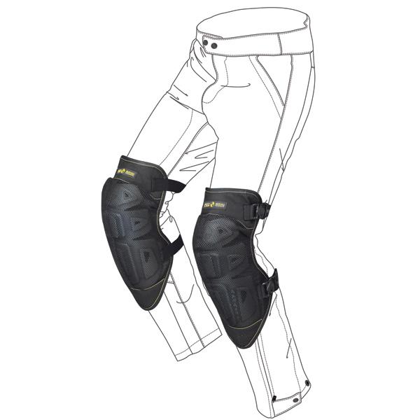 Knee Protectors Spidi K-Net Black