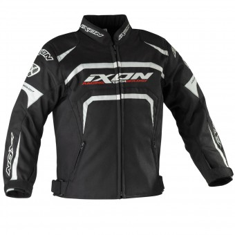 Motorcycle Jackets Ixon Eager Kid Black White