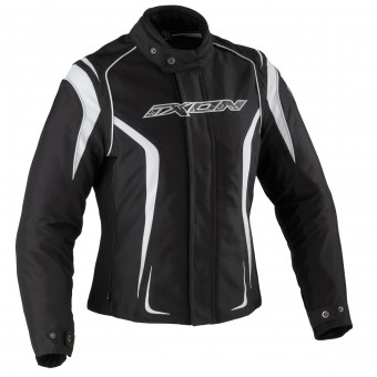 Motorcycle Jackets Ixon Kashima HP Black White