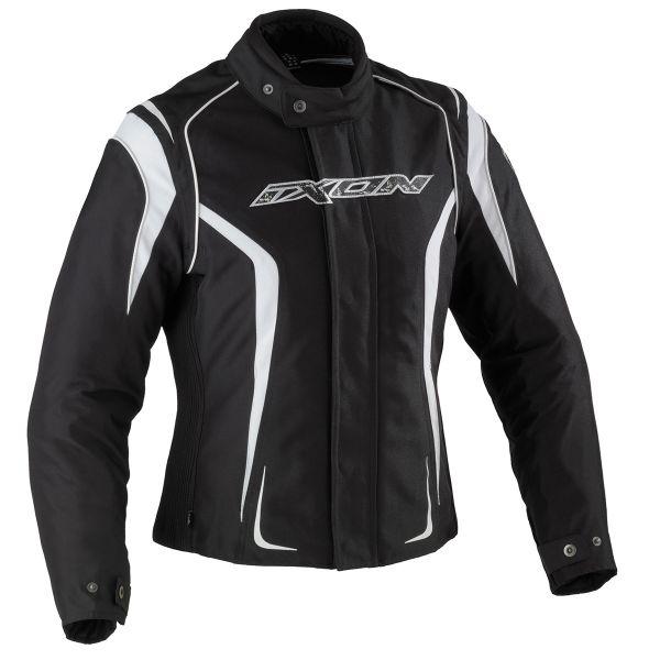 Motorcycle Jackets Ixon Kashima HP Black White
