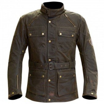 Motorcycle Jackets Merlin Rowan Wax Olive