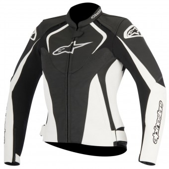 Motorcycle Jackets Alpinestars Stella Jaws Black White