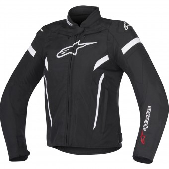 Motorcycle Jackets Alpinestars Stella T-GP Plus R V2 Black White