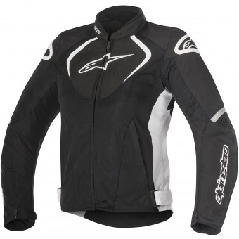 Motorcycle Jackets Alpinestars Stella T-Jaws V2 Air Black White