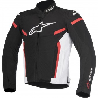 Motorcycle Jackets Alpinestars T-GP Plus R V2 Air Black White Red