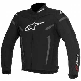 Motorcycle Jackets Alpinestars T-GP Plus R V2 Black Anthracite