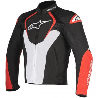 Motorcycle Jackets Alpinestars T-Jaws V2 Air Black White Red