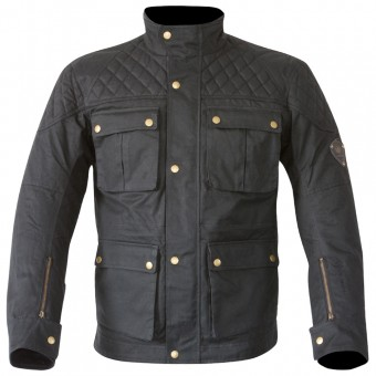 Motorcycle Jackets Merlin Armitage Wax Black