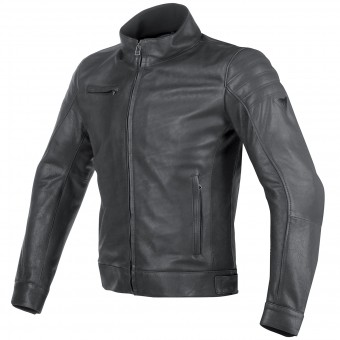 Motorcycle Jackets Dainese Bryan Leather Black