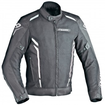 Motorcycle Jackets Ixon Cooler Black White