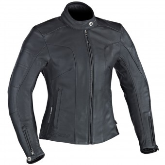 Motorcycle Jackets Ixon Crystal Slick Black