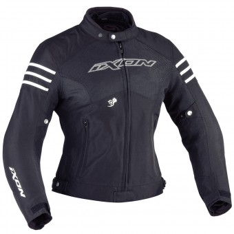Motorcycle Jackets Ixon Electra Absolute Black White