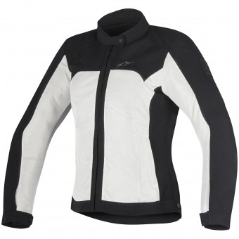 Motorcycle Jackets Alpinestars Eloise Black Light Gray
