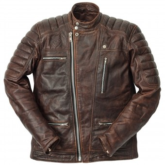 Motorcycle Jackets Ride & Sons Empire Used Brown