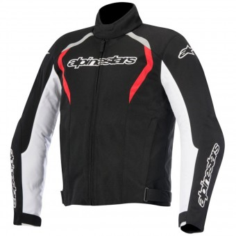 Motorcycle Jackets Alpinestars Fastback WP Black White Red