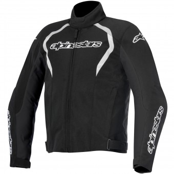 Motorcycle Jackets Alpinestars Fastback WP Black White