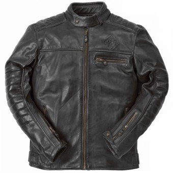Motorcycle Jackets Ride & Sons Getaway Cow Skin Black