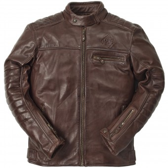 Motorcycle Jackets Ride & Sons Getaway Cow Skin Brown