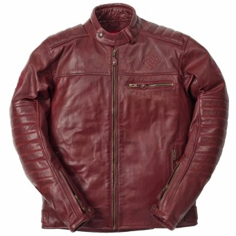 Motorcycle Jackets Ride & Sons Getaway Cow Skin Oxbood