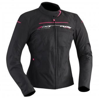 Motorcycle Jackets Ixon Helia Black Fuschia