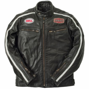 Motorcycle Jackets Ride & Sons Heritage Racing Buffalo Black