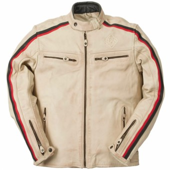 Motorcycle Jackets Ride & Sons Heritage Vintage Cow Skin Sand