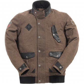 Motorcycle Jackets Ride & Sons Runaway Brown Waxed