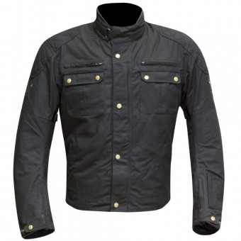 Motorcycle Jackets Merlin Sandon Wax Black