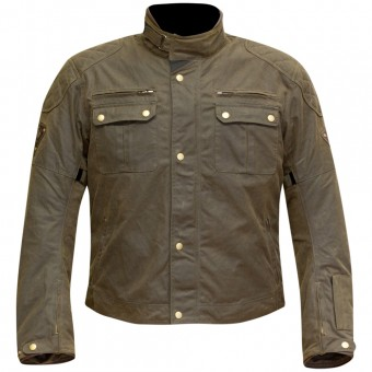 Motorcycle Jackets Merlin Sandon Wax Olive