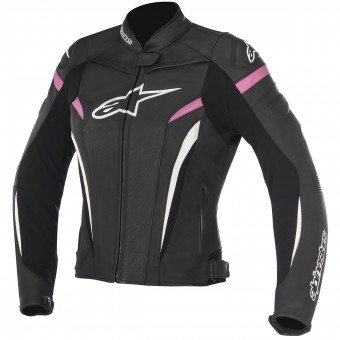 Motorcycle Jackets Alpinestars Stella GP Plus R V2 Black Fuchsia