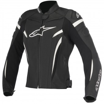 Motorcycle Jackets Alpinestars Stella GP Plus R V2 Black White