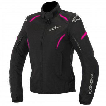 Motorcycle Jackets Alpinestars Stella Gunner Waterproof Black Fuchsia