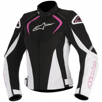 Motorcycle Jackets Alpinestars Stella T-Jaws Waterproof Black Fuchsia