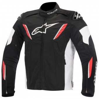 Motorcycle Jackets Alpinestars T-GP R Waterproof Black White Red