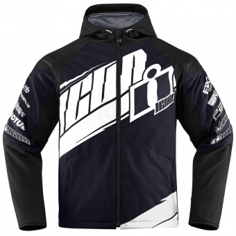 Motorcycle Jackets ICON Team Merc Black
