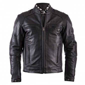 Motorcycle Jackets Helstons Trust Leather Plain Black